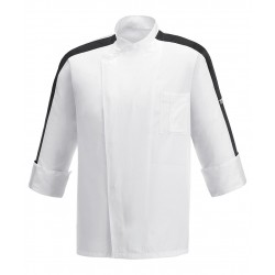 CHAQUETA EGOCHEF BORDEAUX RIBBON