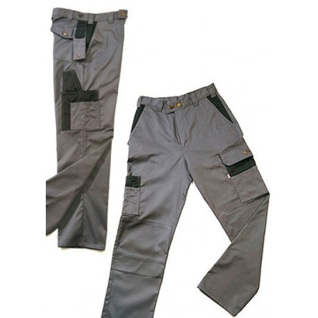 PANTALON MULTIBOLSILLOS BICOLOR WAY